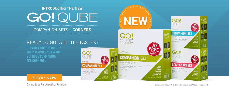 New AccuQuilt GO! Qube - Corners